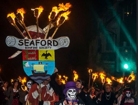Seaford Bonfire Society Procession night